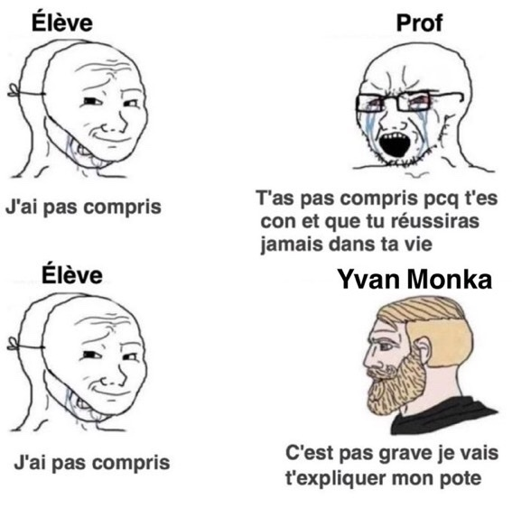 Yvan Monka - meme