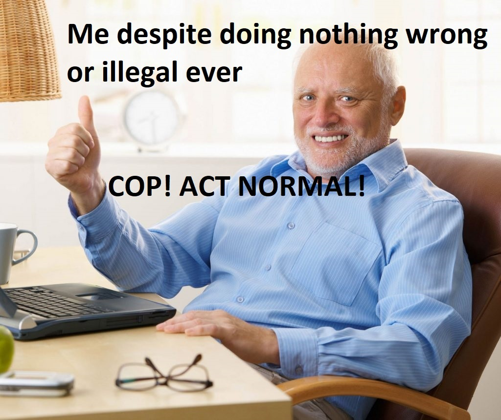 Plz be normal - meme