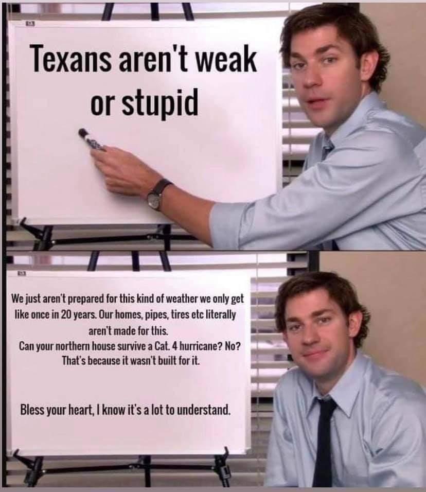Proud Texan - meme