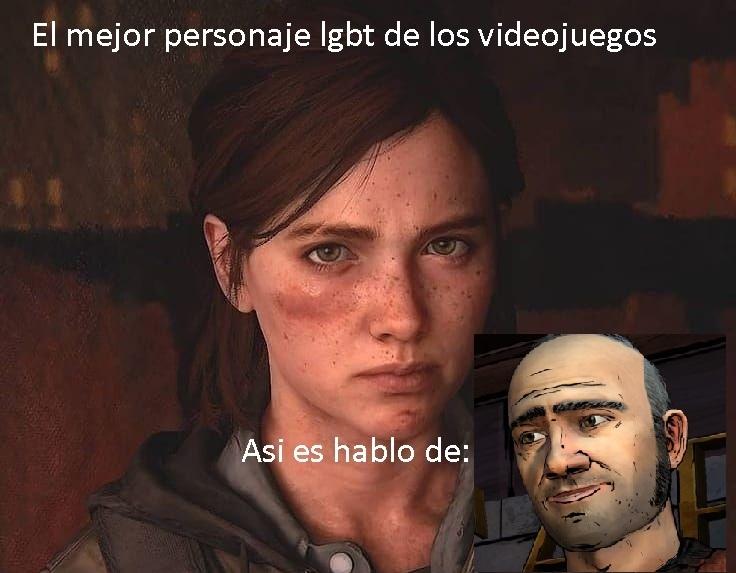Meme inspirado en un comentario que lei XD, por si no lo reconocen el es Walter, personaje de Twd temp 2 (el videojuego)