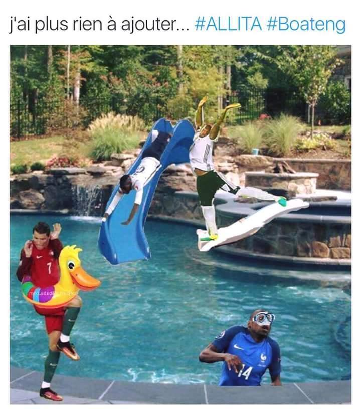 a la piscine OKLM - meme