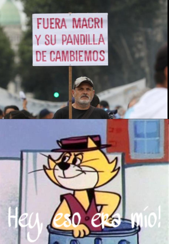 don macri y su pandilla - meme
