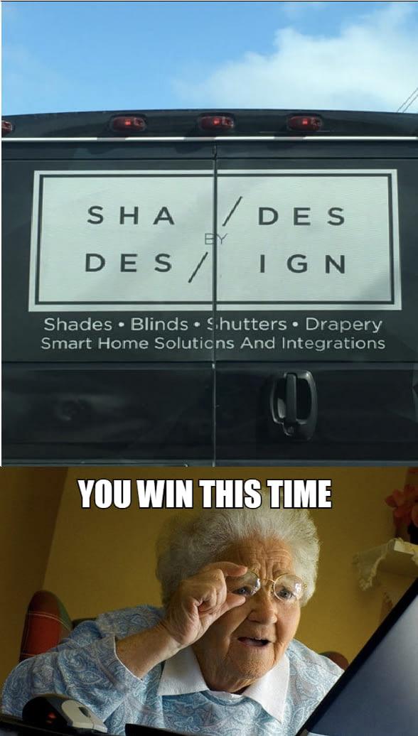 Great design job - meme