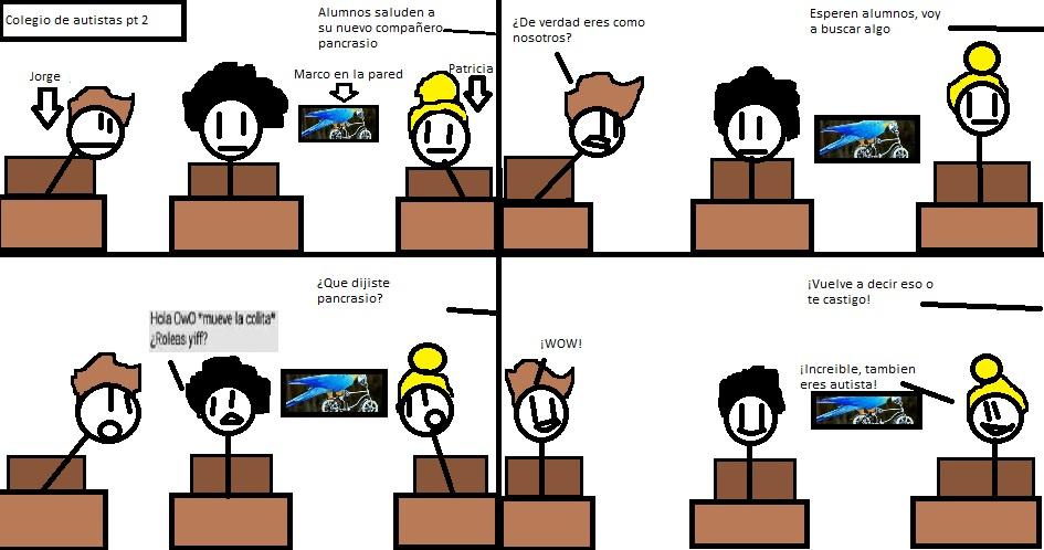 La segunda parte (si quieren mando plantilla - meme