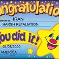 Congrats Iran