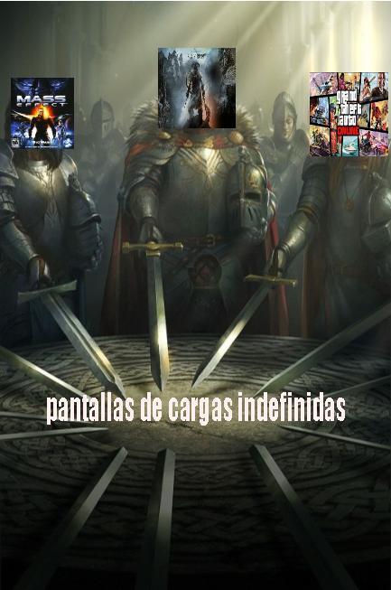 si no entiende skyrim es el rey de pantallas de cargas indefinidas - meme
