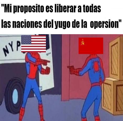 En mundo en 1950 - meme