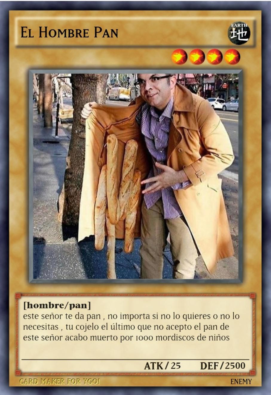 El hombre pan - meme