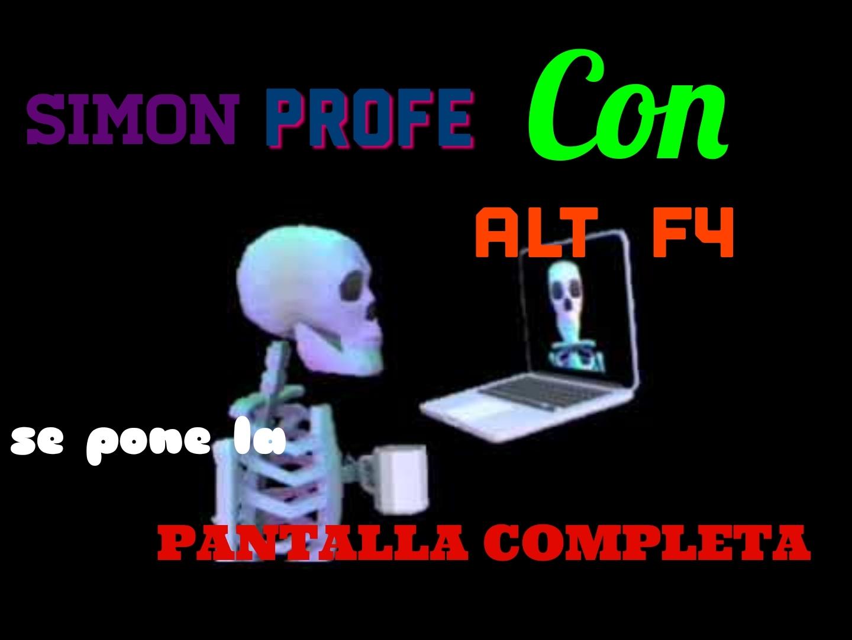 Simon profe :) - meme