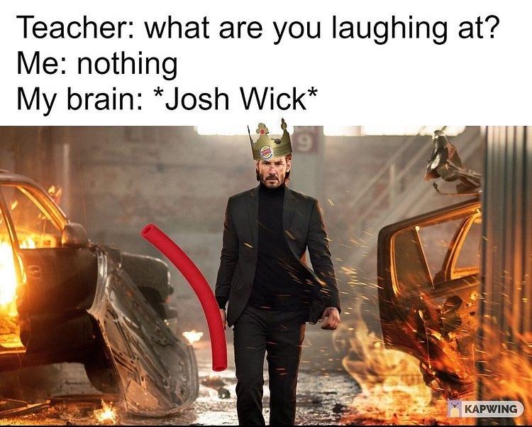 josh wick - meme