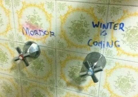 Manera fácil de saber caliente o frío - meme