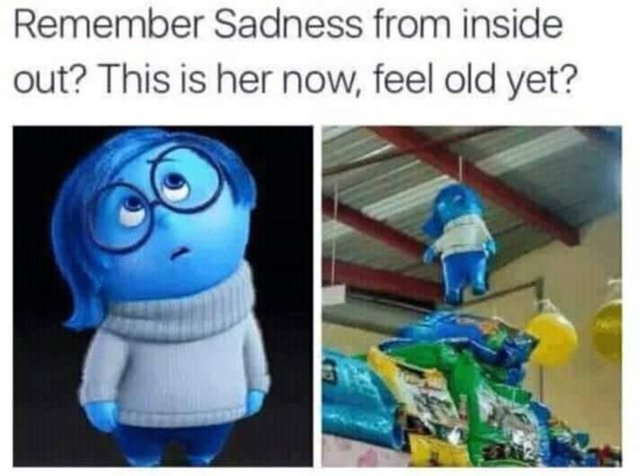 Remember Saddness from inside out? - meme
