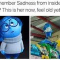Remember Saddness from inside out?