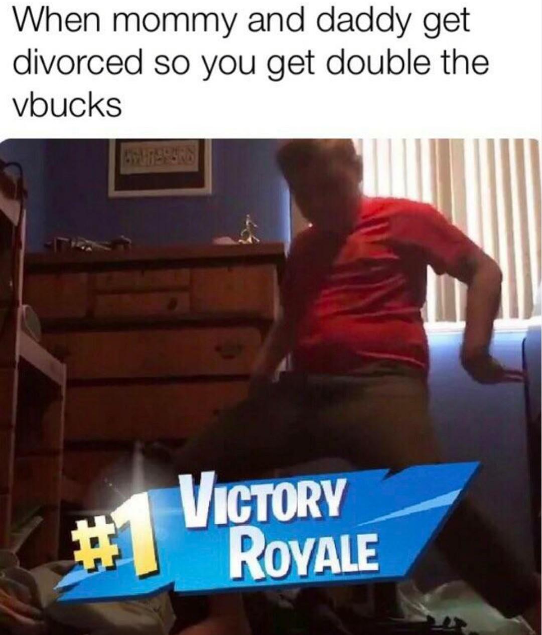 Epic victory royale - meme