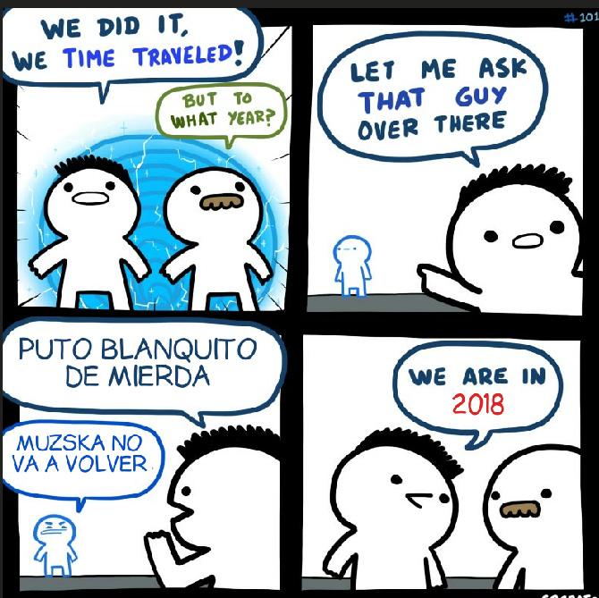 Cuando muzska se fue empezó la caída de YouTube - meme