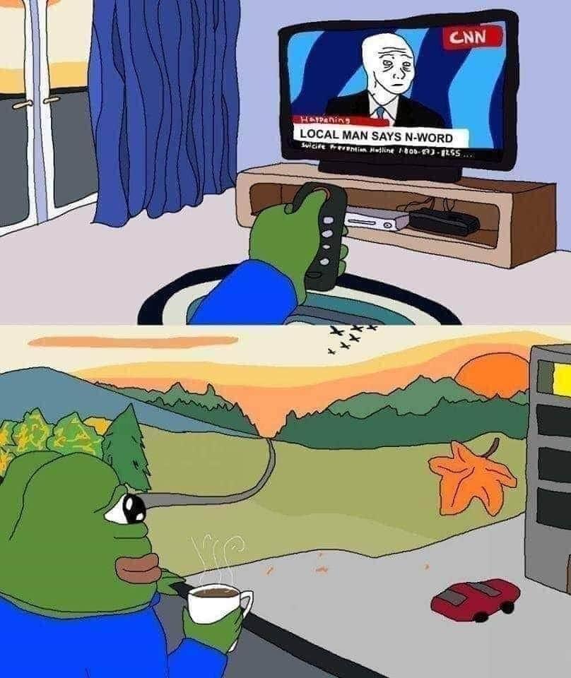 Fuck cnn - meme