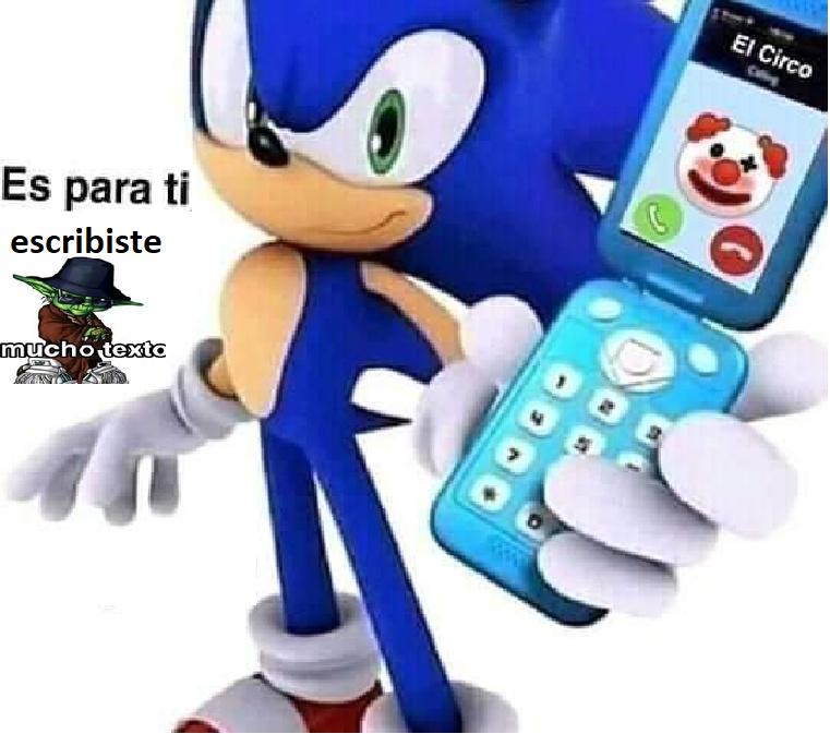 sonic_frases - meme