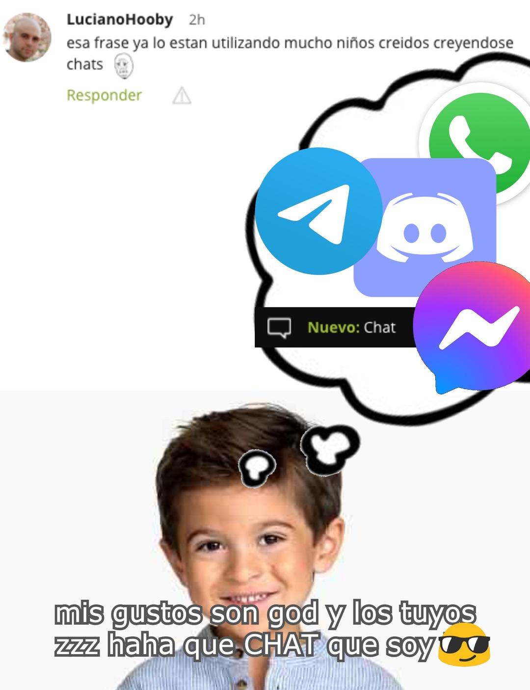 chad :wojaks llorando: chat :chad: - meme