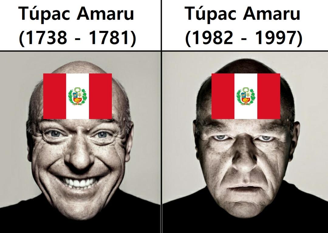 Uno era un líder independentista y el otro un grupo terrorista. - meme