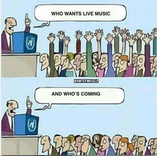 So music should be more respected - meme