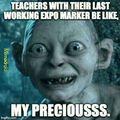 Teachers with expo