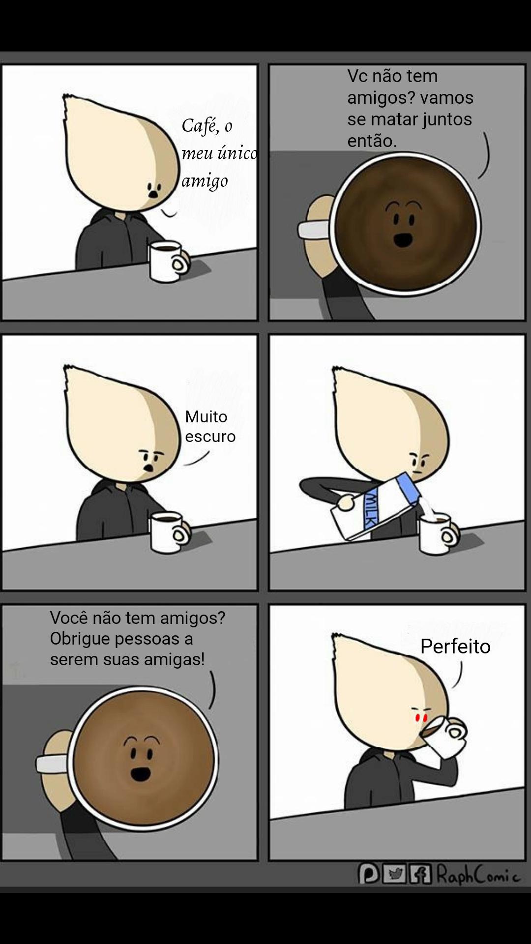 Quero cafeee - meme