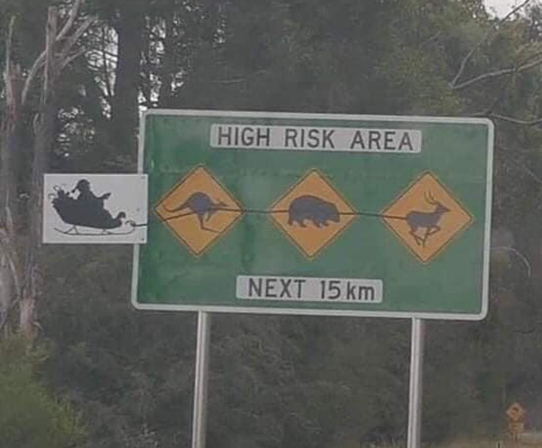 Noël australien - meme