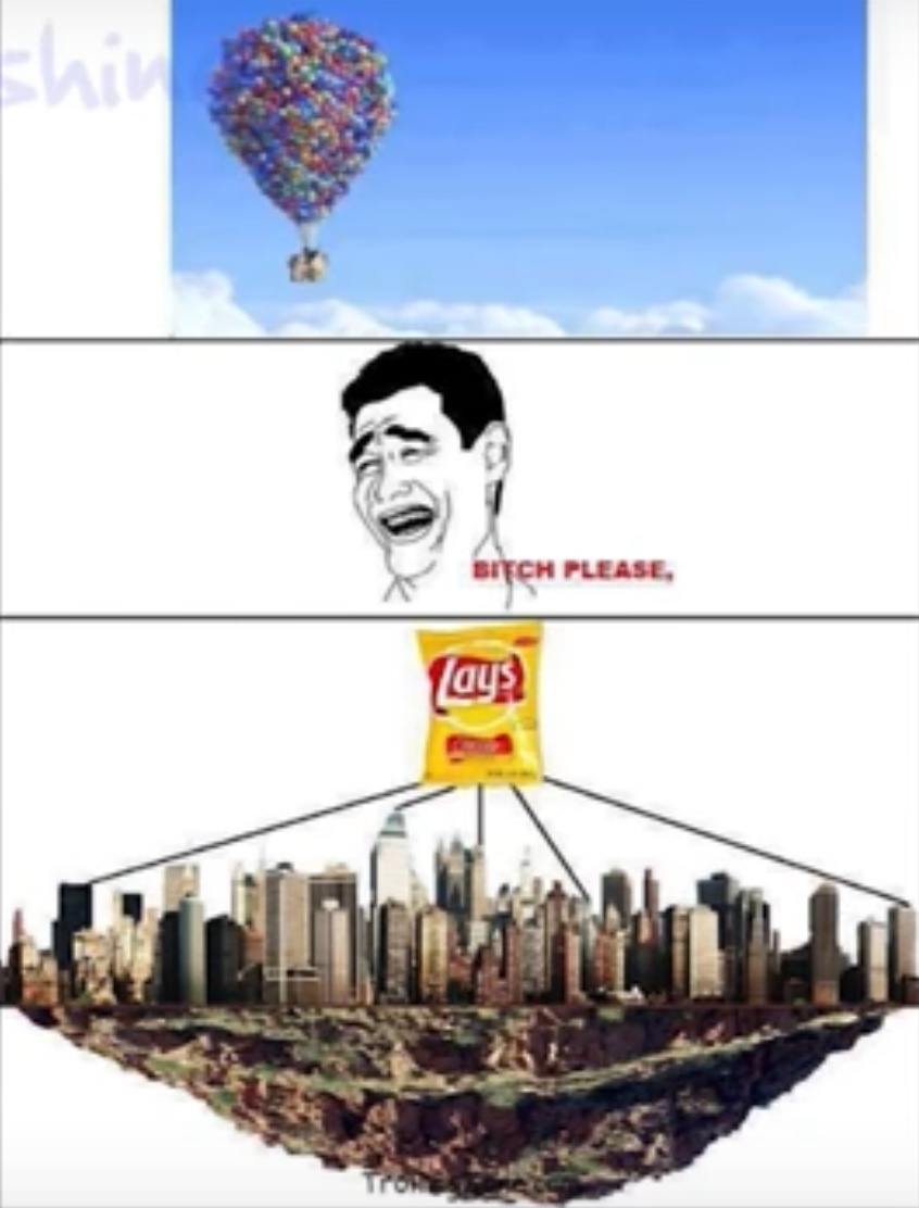 The power of lays - meme