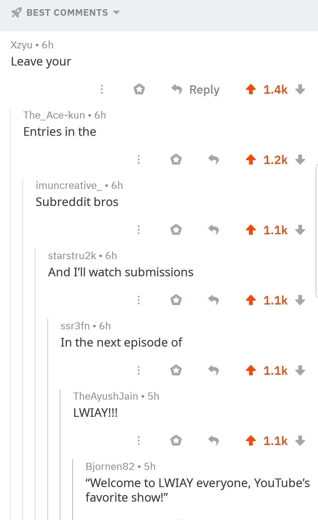 I'm so proud of this community - meme