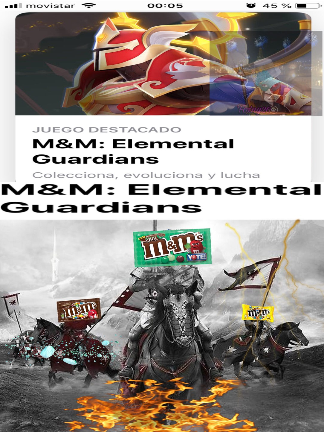 caramelos de chocolate elementales guardianes - meme