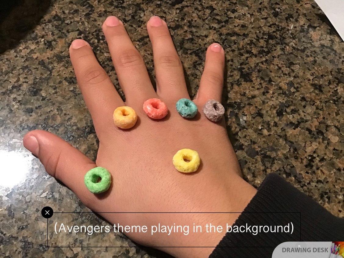 Avengers infinity loops - meme
