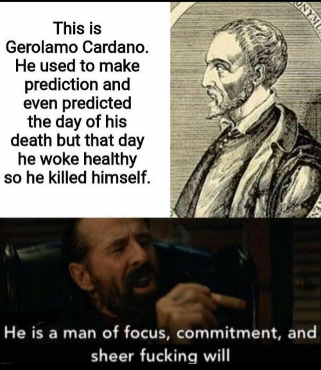 Cardano - meme