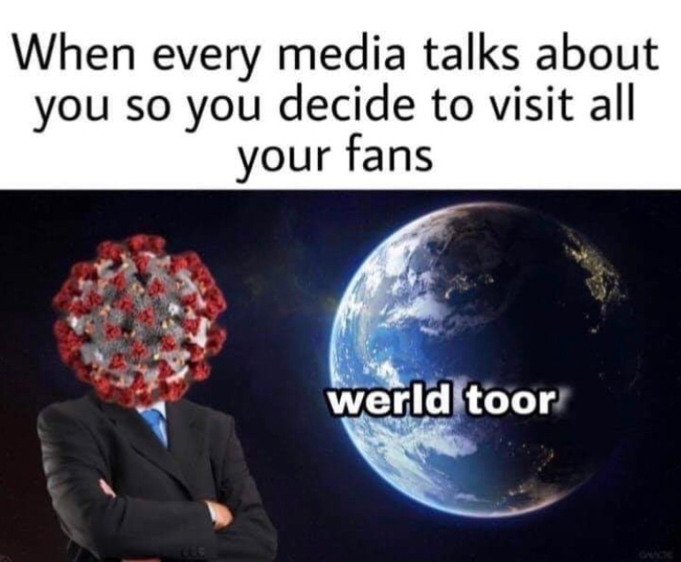 corona time - meme