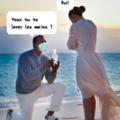 Elle a dit oui!