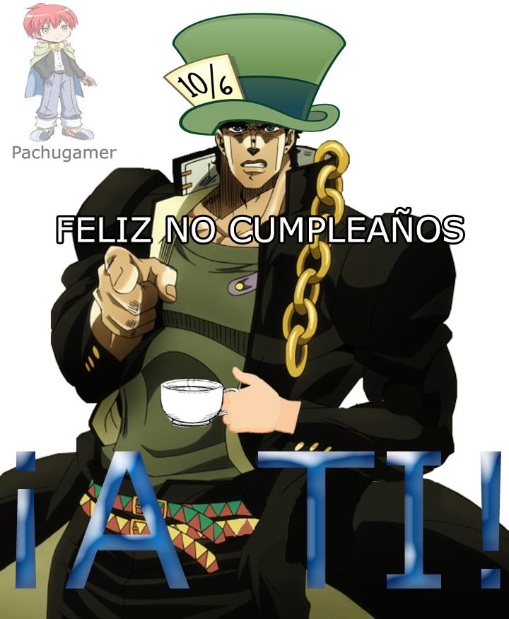 Feliz no cumpleaños :happy: - meme
