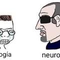 Neurología y psiquiatría: god  psicología: zzzz