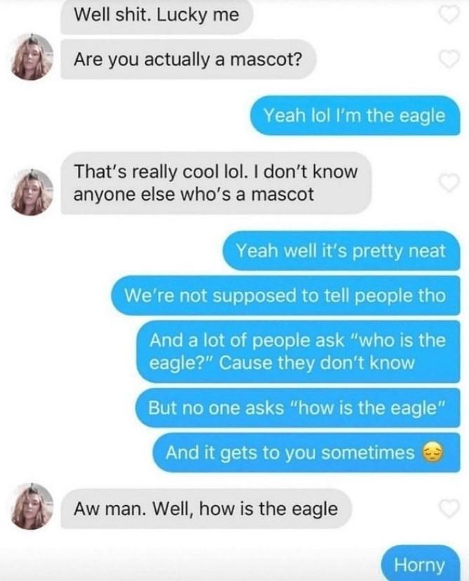 I relate to the eagle - meme
