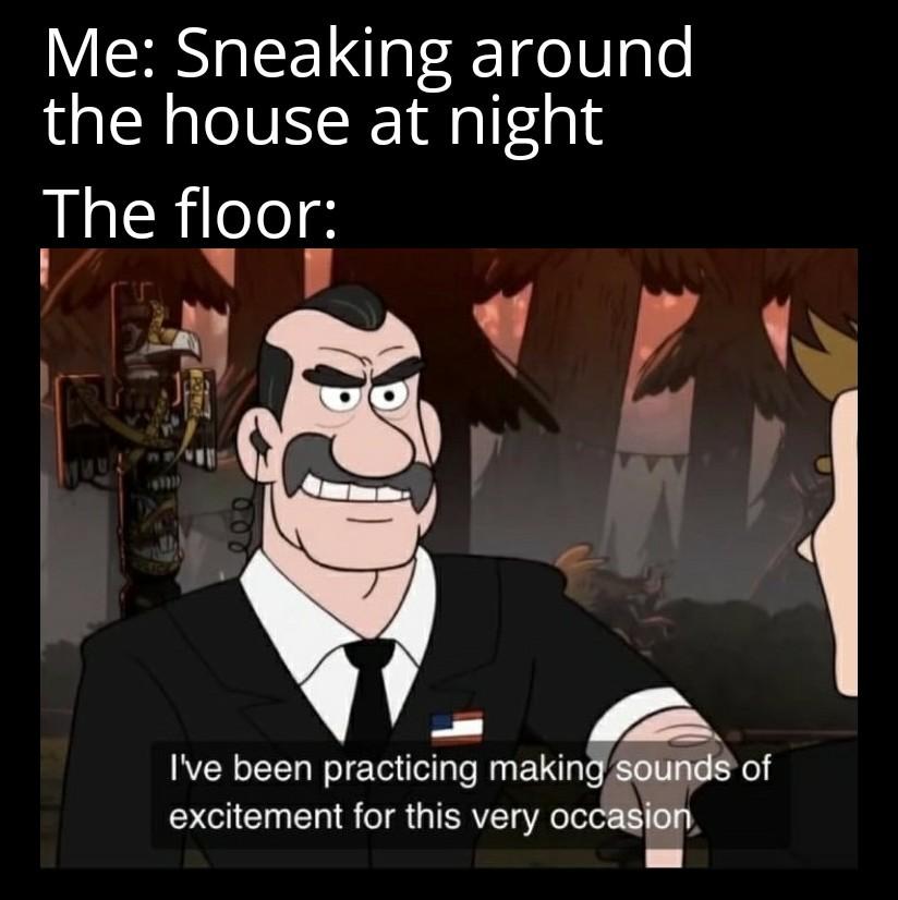 It's always like gunshots - meme