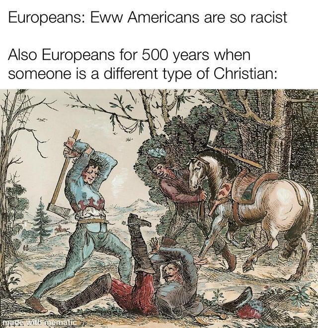 Awesome Europeans - meme