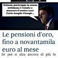 La triste verità di Renzi...
