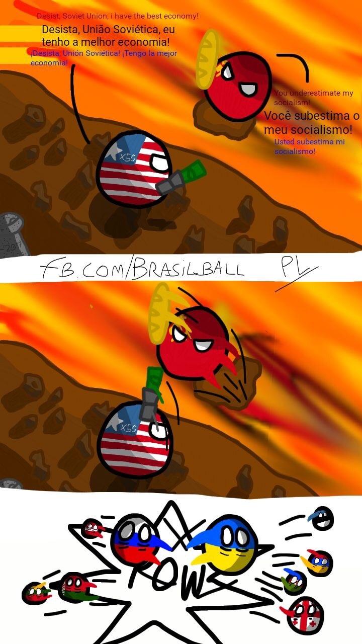 Guerra Fria Wars - meme