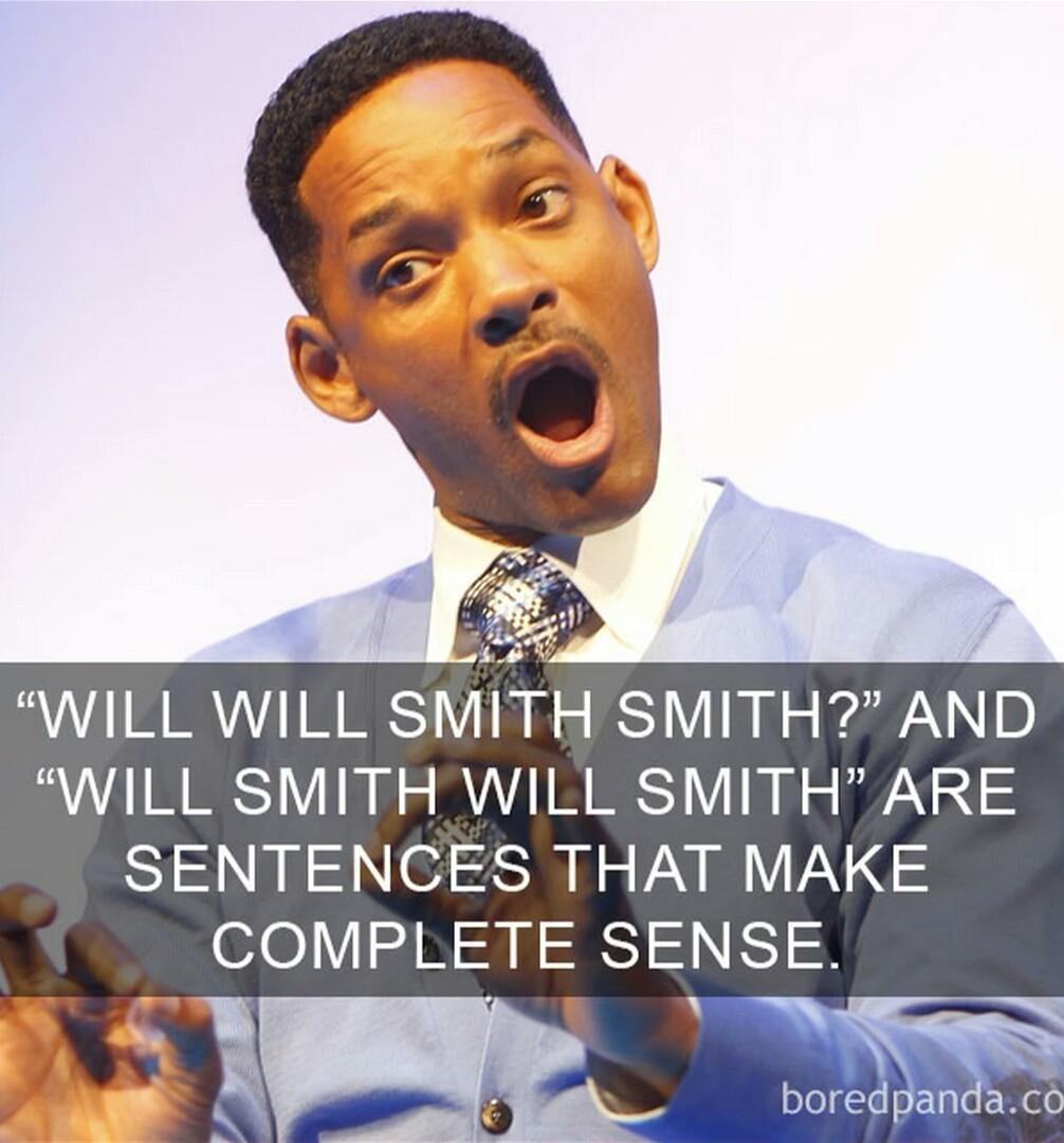 Will will Smith smith - meme