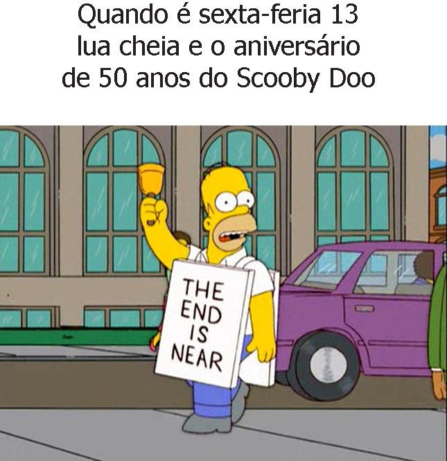O fim dos tempos - meme