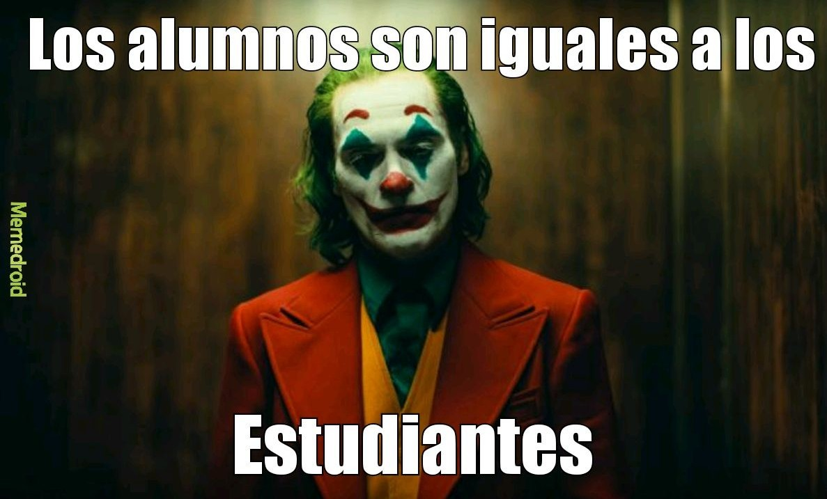 -El joker 2019 - meme