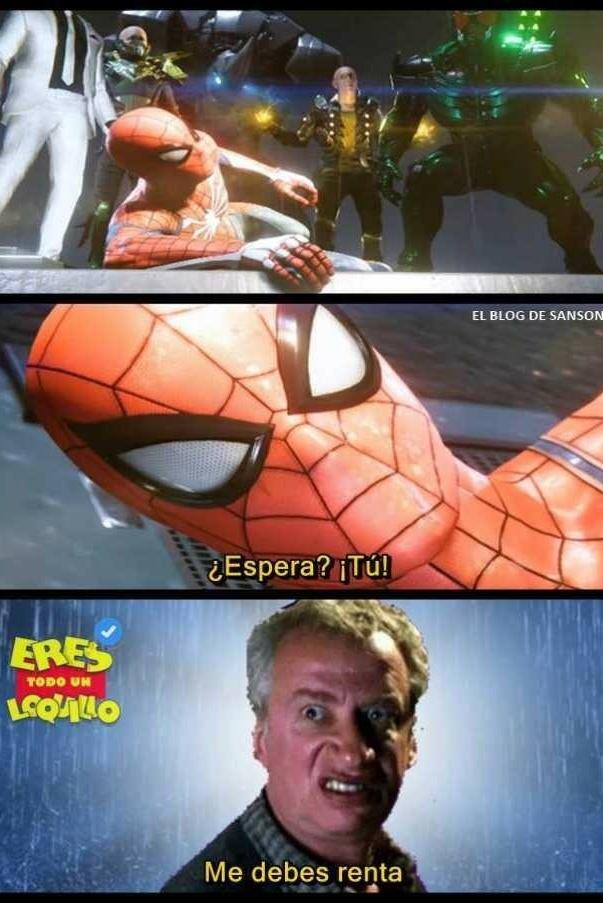 spiderman 3 - meme