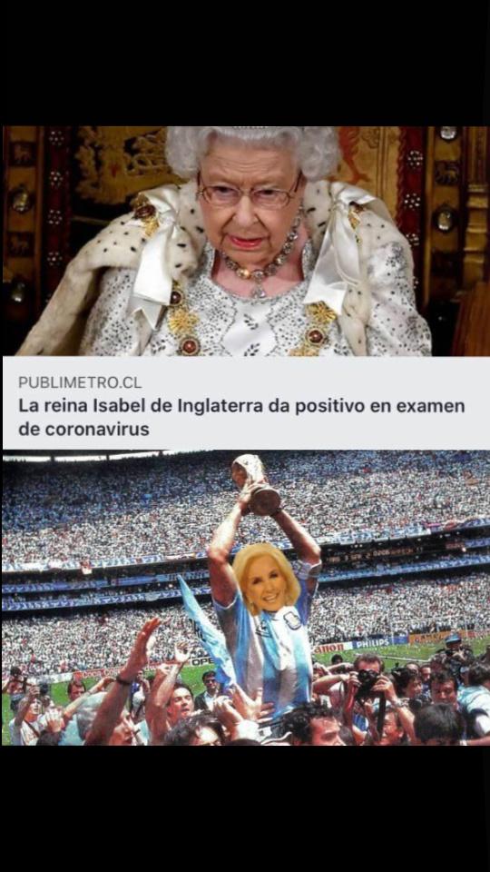 Gano argentina las malvinas por favor - meme