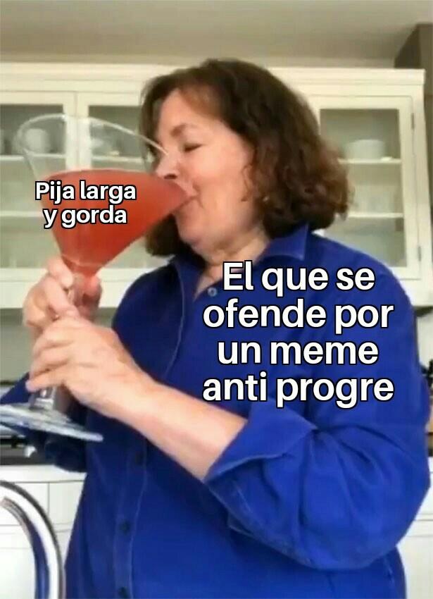 Progres de mierda - meme