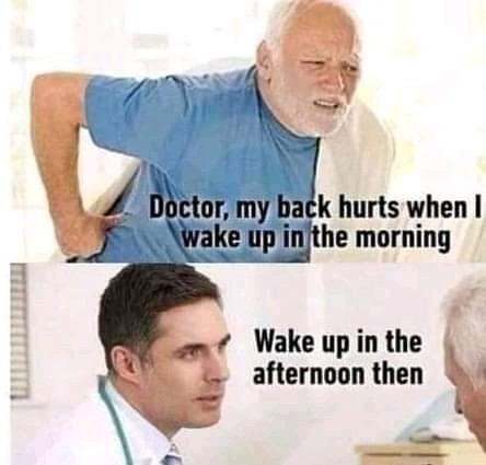The way i will be answering my patients - meme