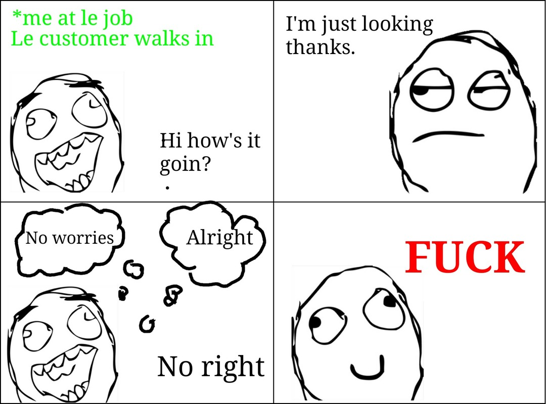 Work is hard - meme