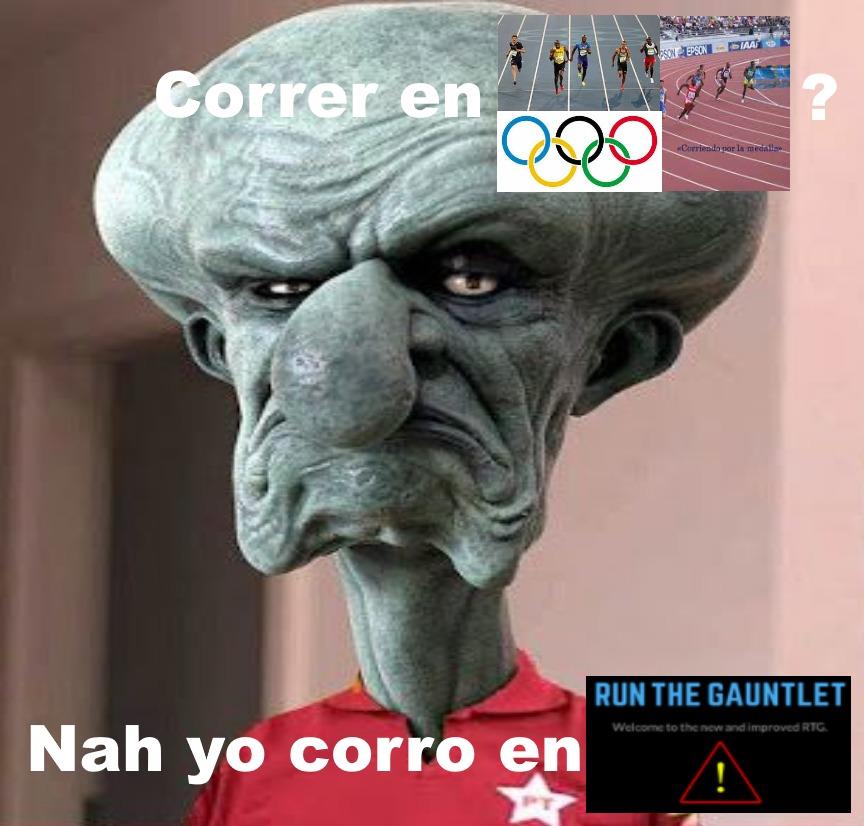 Run The Gauntlet - meme